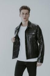 Vegetal Erkek Deri Ceket